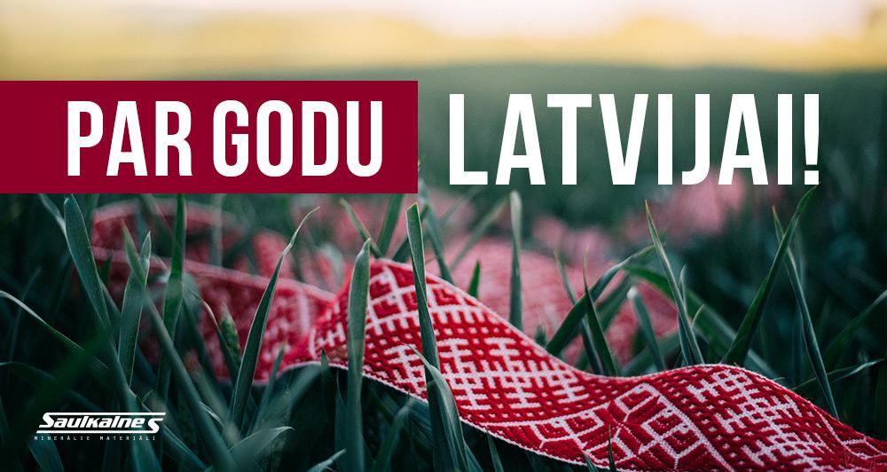 Par godu Latvijai!
